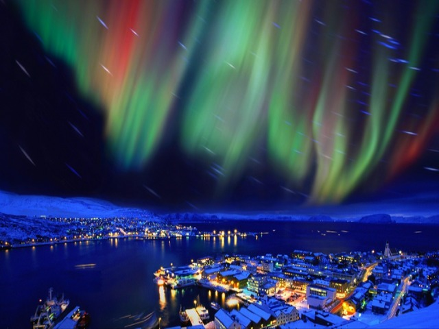 Aurora Borealis over Hammerfest Northern Norway - Aurora Borealis (Northern Lights) over Hammerfest, for which is claimed that is the northernmost city in the world and the oldest town in Northern Norway. Due to its extreme northerly position, during the summer, there is continuous daylight, while during winter, the sun doesn't rises above the horizon. - , Aurora, Borealis, Hammerfest, Northern, Norway, nature, natures, places, place, travel, travels, lights, light, northernmost, city, cities, world, town, towns, extreme, northerly, position, positions, summer, continuous, daylight, winter, sun, horizon - Aurora Borealis (Northern Lights) over Hammerfest, for which is claimed that is the northernmost city in the world and the oldest town in Northern Norway. Due to its extreme northerly position, during the summer, there is continuous daylight, while during winter, the sun doesn't rises above the horizon. Solve free online Aurora Borealis over Hammerfest Northern Norway puzzle games or send Aurora Borealis over Hammerfest Northern Norway puzzle game greeting ecards  from puzzles-games.eu.. Aurora Borealis over Hammerfest Northern Norway puzzle, puzzles, puzzles games, puzzles-games.eu, puzzle games, online puzzle games, free puzzle games, free online puzzle games, Aurora Borealis over Hammerfest Northern Norway free puzzle game, Aurora Borealis over Hammerfest Northern Norway online puzzle game, jigsaw puzzles, Aurora Borealis over Hammerfest Northern Norway jigsaw puzzle, jigsaw puzzle games, jigsaw puzzles games, Aurora Borealis over Hammerfest Northern Norway puzzle game ecard, puzzles games ecards, Aurora Borealis over Hammerfest Northern Norway puzzle game greeting ecard