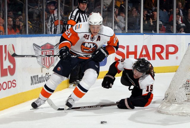 NHL 2010 Kyle Okposo attacks - Kyle Okposo #21 of the New York Islanders attacks and take away the puck from Scott Hartnell #19 of the Philadelphia Flyers during the NHL 2010 in Uniondale, New York (April 01). - , NHL, 2010, Kyle, Okposo, sport, sports, hockey, ice-hockey, New, York, Islanders, Scott, Hartnell, Philadelphia, Flyers, Uniondale - Kyle Okposo #21 of the New York Islanders attacks and take away the puck from Scott Hartnell #19 of the Philadelphia Flyers during the NHL 2010 in Uniondale, New York (April 01). Solve free online NHL 2010 Kyle Okposo attacks puzzle games or send NHL 2010 Kyle Okposo attacks puzzle game greeting ecards  from puzzles-games.eu.. NHL 2010 Kyle Okposo attacks puzzle, puzzles, puzzles games, puzzles-games.eu, puzzle games, online puzzle games, free puzzle games, free online puzzle games, NHL 2010 Kyle Okposo attacks free puzzle game, NHL 2010 Kyle Okposo attacks online puzzle game, jigsaw puzzles, NHL 2010 Kyle Okposo attacks jigsaw puzzle, jigsaw puzzle games, jigsaw puzzles games, NHL 2010 Kyle Okposo attacks puzzle game ecard, puzzles games ecards, NHL 2010 Kyle Okposo attacks puzzle game greeting ecard