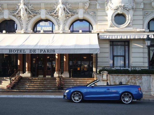Audi S5 Cabriolet 2010 - Audi S5 Cabriolet 2010 is a dynamic open-top model of the new Audi production. The letter