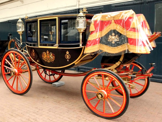 royal wedding england. Royal Wedding Glass Coach at