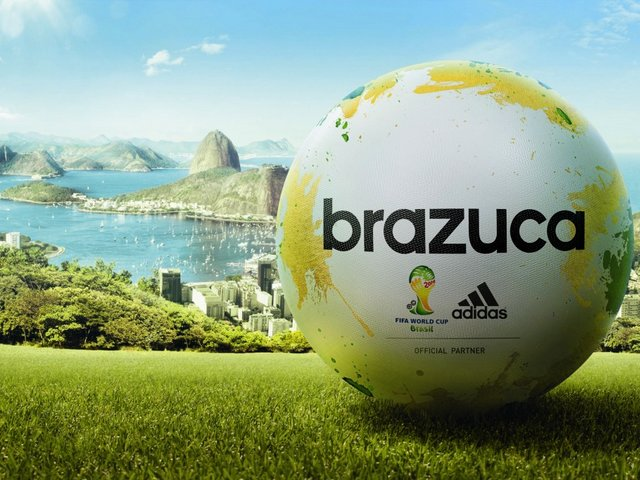 2014 FIFA World Cup Brazil Brazuca Name of Official Match Ball - 'Brazuca', which means 'Brazilian', was chosen in Rio de Janeiro as a name of the official match ball for the 2014 FIFA World Cup, the biggest football event in the world, which will take place in Brazil from 12 June till 13 July, 2014. The term 'Brazuca' (our fellow) refers to the Brazilian way of life, describing the national pride and mirrors the attitude of Brazilians to football, symbol of emotion and goodwill to all. - , 2014, FIFA, World, Cup, Brazil, Brazuca, name, names, official, match, ball, balls, cartoon, cartoons, sport, sports, show, shows, Brazilian, Rio, Janeiro, football, event, events, world, June, July, fellow, fellows, life, lifes, national, pride, attitude, Brazilians, symbol, symbols, emotion, emotions, goodwill - 'Brazuca', which means 'Brazilian', was chosen in Rio de Janeiro as a name of the official match ball for the 2014 FIFA World Cup, the biggest football event in the world, which will take place in Brazil from 12 June till 13 July, 2014. The term 'Brazuca' (our fellow) refers to the Brazilian way of life, describing the national pride and mirrors the attitude of Brazilians to football, symbol of emotion and goodwill to all. Solve free online 2014 FIFA World Cup Brazil Brazuca Name of Official Match Ball puzzle games or send 2014 FIFA World Cup Brazil Brazuca Name of Official Match Ball puzzle game greeting ecards  from puzzles-games.eu.. 2014 FIFA World Cup Brazil Brazuca Name of Official Match Ball puzzle, puzzles, puzzles games, puzzles-games.eu, puzzle games, online puzzle games, free puzzle games, free online puzzle games, 2014 FIFA World Cup Brazil Brazuca Name of Official Match Ball free puzzle game, 2014 FIFA World Cup Brazil Brazuca Name of Official Match Ball online puzzle game, jigsaw puzzles, 2014 FIFA World Cup Brazil Brazuca Name of Official Match Ball jigsaw puzzle, jigsaw puzzle games, jigsaw puzzles games, 2014 FIFA World Cup Brazil Brazuca Name of Official Match Ball puzzle game ecard, puzzles games ecards, 2014 FIFA World Cup Brazil Brazuca Name of Official Match Ball puzzle game greeting ecard