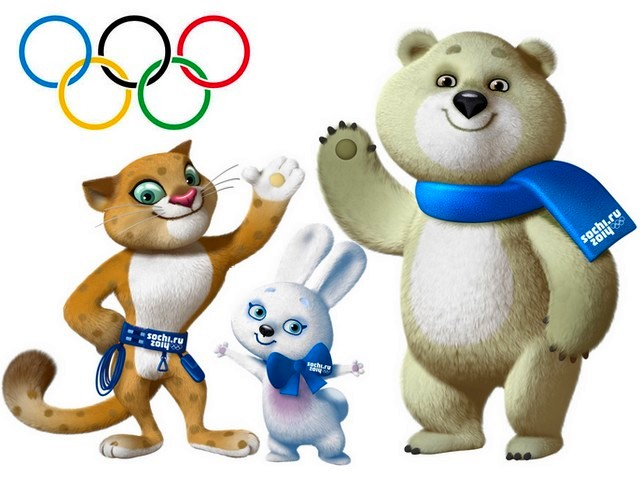 2014 Sochi Winter Olympics Mascots Wallpaper - Wallpaper with the Russia's official mascots for the 2014 Sochi Winter Olympics, a Polar bear, European hare and Amur leopard. The leopards, the hares and the polar bears which are found in Russia, possesses characteristics like speed, strength, and agility, which are suitable for their  inclusion in the Winter Games, as mascots for skiing, speed-skating, curling, sports sleighs, bobsleigh, figure skating  and snowboarding.<br /> The snow leopards are extremely elusive, roam great distances and are officially protected in Russia. Like them, the polar bears in Russia are also protected by law. Since they're uniquely adapted to the Arctic environment, polar bears are particularly sensitive to climate change. The hares are ones of the busiest creatures in the forest during the winter. They are fast, moving up with 40 miles (60 km) per hour and are not threatened with extinction. - , 2014, Sochi, winter, Olympics, mascots, mascot, wallpaper, wallpapers, cartoon, cartoons, sport, sports, Russia, official, polar, bear, bears, European, hare, hares, Amur, leopard, leopards, characteristics, characteristics, speed, strength, agility, games, game, skiing, skating, curling, sleighs, bobsleigh, figure, snowboarding, extremely, elusive, distances, law, uniquely, Arctic, environment, climate, creatures, creature, forest, fast, miles, hour, extinction - Wallpaper with the Russia's official mascots for the 2014 Sochi Winter Olympics, a Polar bear, European hare and Amur leopard. The leopards, the hares and the polar bears which are found in Russia, possesses characteristics like speed, strength, and agility, which are suitable for their  inclusion in the Winter Games, as mascots for skiing, speed-skating, curling, sports sleighs, bobsleigh, figure skating  and snowboarding.<br /> The snow leopards are extremely elusive, roam great distances and are officially protected in Russia. Like them, the polar bears in Russia are also protected by law. Since they're uniquely adapted to the Arctic environment, polar bears are particularly sensitive to climate change. The hares are ones of the busiest creatures in the forest during the winter. They are fast, moving up with 40 miles (60 km) per hour and are not threatened with extinction. Solve free online 2014 Sochi Winter Olympics Mascots Wallpaper puzzle games or send 2014 Sochi Winter Olympics Mascots Wallpaper puzzle game greeting ecards  from puzzles-games.eu.. 2014 Sochi Winter Olympics Mascots Wallpaper puzzle, puzzles, puzzles games, puzzles-games.eu, puzzle games, online puzzle games, free puzzle games, free online puzzle games, 2014 Sochi Winter Olympics Mascots Wallpaper free puzzle game, 2014 Sochi Winter Olympics Mascots Wallpaper online puzzle game, jigsaw puzzles, 2014 Sochi Winter Olympics Mascots Wallpaper jigsaw puzzle, jigsaw puzzle games, jigsaw puzzles games, 2014 Sochi Winter Olympics Mascots Wallpaper puzzle game ecard, puzzles games ecards, 2014 Sochi Winter Olympics Mascots Wallpaper puzzle game greeting ecard