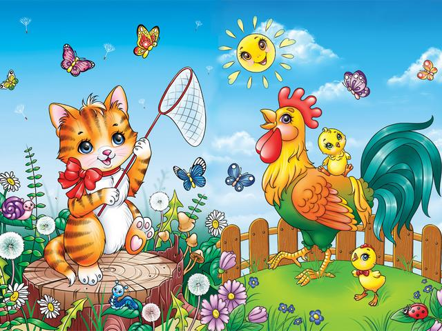 Cat and Rooster in the Yard by Aniel-AK on DeviantArt - 'Cat and Rooster in the Yard' is a beautiful illustration by Aniel-AK on DeviantArt (Anna from Ukraine, born May 13, 1991) in a mini-book for the youngest children of the Ukrainian publishing house 'Zirka'. Aniel-AK (Anna) is an artist and student in digital art, who likes drawings, paintings and illustrations of storybooks. - , cat, cats, rooster, roosters, yard, yards, Aniel-AK, DeviantArt, cartoon, cartoons, art, arts, animals, animal, beautiful, illustration, illustrations, Anna, Ukraine, May, 1991, mini, book, books, youngest, children, child, Ukrainian, publishing, house, houses, Zirka, artist, artists, student, students, digital, drawings, drawing, paintings, painting, storybooks, storybook - 'Cat and Rooster in the Yard' is a beautiful illustration by Aniel-AK on DeviantArt (Anna from Ukraine, born May 13, 1991) in a mini-book for the youngest children of the Ukrainian publishing house 'Zirka'. Aniel-AK (Anna) is an artist and student in digital art, who likes drawings, paintings and illustrations of storybooks. Solve free online Cat and Rooster in the Yard by Aniel-AK on DeviantArt puzzle games or send Cat and Rooster in the Yard by Aniel-AK on DeviantArt puzzle game greeting ecards  from puzzles-games.eu.. Cat and Rooster in the Yard by Aniel-AK on DeviantArt puzzle, puzzles, puzzles games, puzzles-games.eu, puzzle games, online puzzle games, free puzzle games, free online puzzle games, Cat and Rooster in the Yard by Aniel-AK on DeviantArt free puzzle game, Cat and Rooster in the Yard by Aniel-AK on DeviantArt online puzzle game, jigsaw puzzles, Cat and Rooster in the Yard by Aniel-AK on DeviantArt jigsaw puzzle, jigsaw puzzle games, jigsaw puzzles games, Cat and Rooster in the Yard by Aniel-AK on DeviantArt puzzle game ecard, puzzles games ecards, Cat and Rooster in the Yard by Aniel-AK on DeviantArt puzzle game greeting ecard