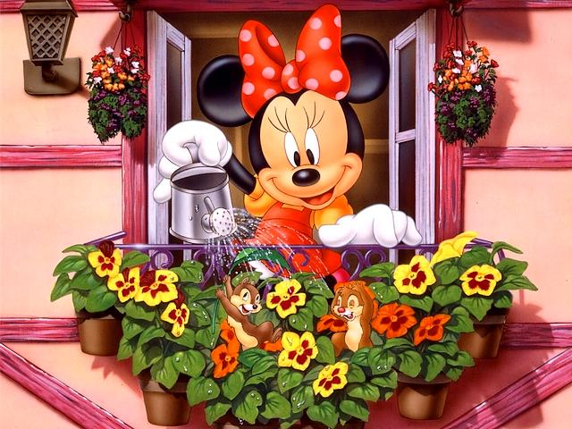 Disney Spring Minnie Wallpaper - Minnie, a charming  mouse from the animated movies of Disney, water the flowers of her window during the spring. - , Disney, spring, Minnie, wallpaper, wallpapers, cartoon, cartoons, nature, natures, holidays, holiday, season, seasons, charming, mouse, mouses, animated, movies, movie, flowers, flower, window, windows - Minnie, a charming  mouse from the animated movies of Disney, water the flowers of her window during the spring. Solve free online Disney Spring Minnie Wallpaper puzzle games or send Disney Spring Minnie Wallpaper puzzle game greeting ecards  from puzzles-games.eu.. Disney Spring Minnie Wallpaper puzzle, puzzles, puzzles games, puzzles-games.eu, puzzle games, online puzzle games, free puzzle games, free online puzzle games, Disney Spring Minnie Wallpaper free puzzle game, Disney Spring Minnie Wallpaper online puzzle game, jigsaw puzzles, Disney Spring Minnie Wallpaper jigsaw puzzle, jigsaw puzzle games, jigsaw puzzles games, Disney Spring Minnie Wallpaper puzzle game ecard, puzzles games ecards, Disney Spring Minnie Wallpaper puzzle game greeting ecard