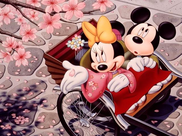 Disney Spring Minnie and Mickey Mouse in Japan Wallpaper - Minnie and Mickey Mouse, heroes from the animated films of Disney, are enjoying the blooming cherry tree at the spring, during their tour in Japan. - , Disney, spring, Minnie, Mickey, Mouse, Japan, wallpaper, wallpapers, cartoon, cartoons, nature, natures, holidays, holiday, season, seasons, places, place, travel, travels, tour, tours, trips, trip, heroes, hero, animated, films, film, blooming, cherry, tree, trees, Japan - Minnie and Mickey Mouse, heroes from the animated films of Disney, are enjoying the blooming cherry tree at the spring, during their tour in Japan. Solve free online Disney Spring Minnie and Mickey Mouse in Japan Wallpaper puzzle games or send Disney Spring Minnie and Mickey Mouse in Japan Wallpaper puzzle game greeting ecards  from puzzles-games.eu.. Disney Spring Minnie and Mickey Mouse in Japan Wallpaper puzzle, puzzles, puzzles games, puzzles-games.eu, puzzle games, online puzzle games, free puzzle games, free online puzzle games, Disney Spring Minnie and Mickey Mouse in Japan Wallpaper free puzzle game, Disney Spring Minnie and Mickey Mouse in Japan Wallpaper online puzzle game, jigsaw puzzles, Disney Spring Minnie and Mickey Mouse in Japan Wallpaper jigsaw puzzle, jigsaw puzzle games, jigsaw puzzles games, Disney Spring Minnie and Mickey Mouse in Japan Wallpaper puzzle game ecard, puzzles games ecards, Disney Spring Minnie and Mickey Mouse in Japan Wallpaper puzzle game greeting ecard