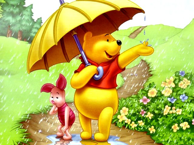 Disney Summer Winnie the Pooh and Piglet under the Rain Wallpaper - Wallpaper with Winnie the Pooh and Piglet, the American cartoon characters created by Walt Disney, with umbrella under the summer rain. - , Disney, summer, summers, Winnie, Pooh, Piglet, rain, rains, wallpaper, wallpapers, cartoon, cartoons, nature, natures, place, places, holidays, holiday, season, seasons, vacation, vacations, American, characters, character, Walt, umbrella, umbrellas - Wallpaper with Winnie the Pooh and Piglet, the American cartoon characters created by Walt Disney, with umbrella under the summer rain. Solve free online Disney Summer Winnie the Pooh and Piglet under the Rain Wallpaper puzzle games or send Disney Summer Winnie the Pooh and Piglet under the Rain Wallpaper puzzle game greeting ecards  from puzzles-games.eu.. Disney Summer Winnie the Pooh and Piglet under the Rain Wallpaper puzzle, puzzles, puzzles games, puzzles-games.eu, puzzle games, online puzzle games, free puzzle games, free online puzzle games, Disney Summer Winnie the Pooh and Piglet under the Rain Wallpaper free puzzle game, Disney Summer Winnie the Pooh and Piglet under the Rain Wallpaper online puzzle game, jigsaw puzzles, Disney Summer Winnie the Pooh and Piglet under the Rain Wallpaper jigsaw puzzle, jigsaw puzzle games, jigsaw puzzles games, Disney Summer Winnie the Pooh and Piglet under the Rain Wallpaper puzzle game ecard, puzzles games ecards, Disney Summer Winnie the Pooh and Piglet under the Rain Wallpaper puzzle game greeting ecard