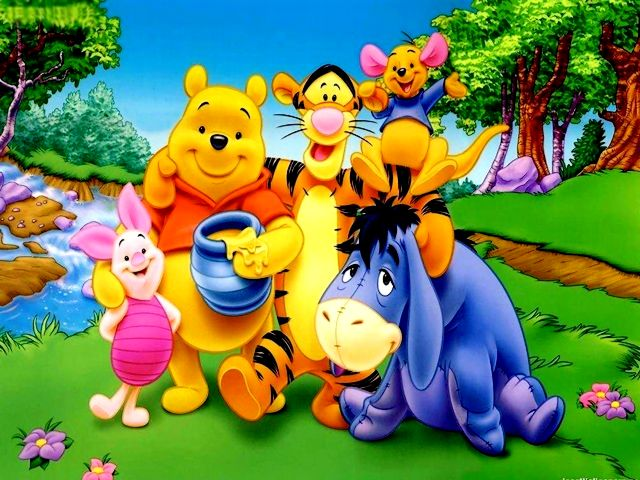 Disney Summertime Winnie The Pooh And Friends Wallpaper Puzzles