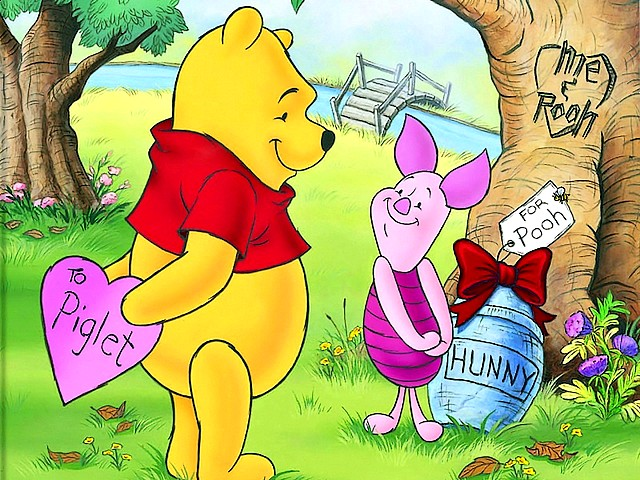 Disney Valentines Day Piglet and Pooh Wallpaper - A beautiful wallpaper for Valentine's Day with Piglet and Pooh, among the most loved animated heroes created by Walt Disney, which exchange greeting cards and gifts. - , Disney, Valentines, Day, days, Piglet, piglets, Pooh, wallpaper, wallpapers, cartoons, cartoon, holidays, holiday, festival, festivals, celebrations, celebration, Valentine, most, loved, animated, heroes, hero, Walt, greeting, greetings, cards, card, gifts, gift - A beautiful wallpaper for Valentine's Day with Piglet and Pooh, among the most loved animated heroes created by Walt Disney, which exchange greeting cards and gifts. Lösen Sie kostenlose Disney Valentines Day Piglet and Pooh Wallpaper Online Puzzle Spiele oder senden Sie Disney Valentines Day Piglet and Pooh Wallpaper Puzzle Spiel Gruß ecards  from puzzles-games.eu.. Disney Valentines Day Piglet and Pooh Wallpaper puzzle, Rätsel, puzzles, Puzzle Spiele, puzzles-games.eu, puzzle games, Online Puzzle Spiele, kostenlose Puzzle Spiele, kostenlose Online Puzzle Spiele, Disney Valentines Day Piglet and Pooh Wallpaper kostenlose Puzzle Spiel, Disney Valentines Day Piglet and Pooh Wallpaper Online Puzzle Spiel, jigsaw puzzles, Disney Valentines Day Piglet and Pooh Wallpaper jigsaw puzzle, jigsaw puzzle games, jigsaw puzzles games, Disney Valentines Day Piglet and Pooh Wallpaper Puzzle Spiel ecard, Puzzles Spiele ecards, Disney Valentines Day Piglet and Pooh Wallpaper Puzzle Spiel Gruß ecards
