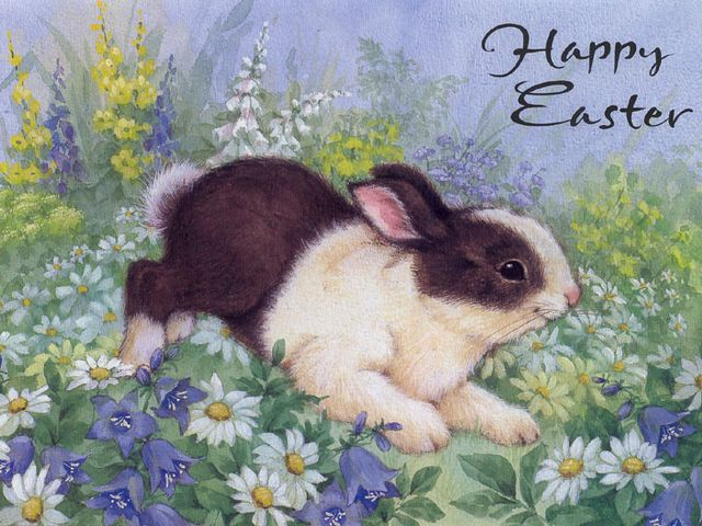 Easter Bunny Greeting Card - Beautiful greeting card for a 'Happy Easter' with an adorable bunny on meadow with lovely daisies, lit up by the spring sun.<br /> The Easter Bunny and Easter eggs are symbols of the Easter, the coming of spring and the fertility. Easter is a time for renewal and rebirth. - , Easter, bunny, bunnies, greeting, greetings, card, cards, cartoon, cartoons, holiday, holidays, beautiful, happy, adorable, meadow, meadows, daisies, daisy, spring, sun, eggs, egg, symbols, symbol, fertility, time, times, renewal, rebirth - Beautiful greeting card for a 'Happy Easter' with an adorable bunny on meadow with lovely daisies, lit up by the spring sun.<br /> The Easter Bunny and Easter eggs are symbols of the Easter, the coming of spring and the fertility. Easter is a time for renewal and rebirth. Подреждайте безплатни онлайн Easter Bunny Greeting Card пъзел игри или изпратете Easter Bunny Greeting Card пъзел игра поздравителна картичка  от puzzles-games.eu.. Easter Bunny Greeting Card пъзел, пъзели, пъзели игри, puzzles-games.eu, пъзел игри, online пъзел игри, free пъзел игри, free online пъзел игри, Easter Bunny Greeting Card free пъзел игра, Easter Bunny Greeting Card online пъзел игра, jigsaw puzzles, Easter Bunny Greeting Card jigsaw puzzle, jigsaw puzzle games, jigsaw puzzles games, Easter Bunny Greeting Card пъзел игра картичка, пъзели игри картички, Easter Bunny Greeting Card пъзел игра поздравителна картичка