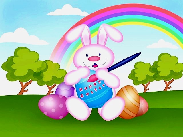 Easter Bunny Postcard - Postcard with Easter bunny at a meadow under the rainbow. - , Easter, bunny, bunnies, postcard, postcards, cartoon, cartoons, holiday, holidays, feast, feasts, celebration, celebrations, nature, natures, season, seasons, meadow, meadows, rainbow, rainbows - Postcard with Easter bunny at a meadow under the rainbow. Solve free online Easter Bunny Postcard puzzle games or send Easter Bunny Postcard puzzle game greeting ecards  from puzzles-games.eu.. Easter Bunny Postcard puzzle, puzzles, puzzles games, puzzles-games.eu, puzzle games, online puzzle games, free puzzle games, free online puzzle games, Easter Bunny Postcard free puzzle game, Easter Bunny Postcard online puzzle game, jigsaw puzzles, Easter Bunny Postcard jigsaw puzzle, jigsaw puzzle games, jigsaw puzzles games, Easter Bunny Postcard puzzle game ecard, puzzles games ecards, Easter Bunny Postcard puzzle game greeting ecard