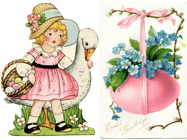 Easter Egg and Girl with Goose Whitney Made Vintage Postcards - Beautiful vintage postcards depicting a 'Girl with goose' and a pink 'Easter egg' with ribbon and spring flowers, manufactured by the publishing company 'Whitney', founded in beginning of the century in Worcester, Massachusetts, by George Whitney, a veteran of the Civil War. Whitney Company became an important publisher of greeting cards and souvenirs for all holidays as Easter, Halloween, Valentine's Day, known of collectors as 'Whitney Made' or marked with red 'W'. - , Easter, egg, eggs, girl, girls, goose, gooses, Whitney, made, vintage, postcards, postcard, cartoons, cartoon, holidays, holiday, beautiful, pink, ribbon, ribbons, spring, flowers, flower, publishing, company, companies, beginning, century, centuries, Worcester, Massachusetts, George, Civil, War, important, publisher, publishers, greeting, cards, card, souvenirs, souvenir, Halloween, Valentine's, day, days, collectors, collector, red - Beautiful vintage postcards depicting a 'Girl with goose' and a pink 'Easter egg' with ribbon and spring flowers, manufactured by the publishing company 'Whitney', founded in beginning of the century in Worcester, Massachusetts, by George Whitney, a veteran of the Civil War. Whitney Company became an important publisher of greeting cards and souvenirs for all holidays as Easter, Halloween, Valentine's Day, known of collectors as 'Whitney Made' or marked with red 'W'. Solve free online Easter Egg and Girl with Goose Whitney Made Vintage Postcards puzzle games or send Easter Egg and Girl with Goose Whitney Made Vintage Postcards puzzle game greeting ecards  from puzzles-games.eu.. Easter Egg and Girl with Goose Whitney Made Vintage Postcards puzzle, puzzles, puzzles games, puzzles-games.eu, puzzle games, online puzzle games, free puzzle games, free online puzzle games, Easter Egg and Girl with Goose Whitney Made Vintage Postcards free puzzle game, Easter Egg and Girl with Goose Whitney Made Vintage Postcards online puzzle game, jigsaw puzzles, Easter Egg and Girl with Goose Whitney Made Vintage Postcards jigsaw puzzle, jigsaw puzzle games, jigsaw puzzles games, Easter Egg and Girl with Goose Whitney Made Vintage Postcards puzzle game ecard, puzzles games ecards, Easter Egg and Girl with Goose Whitney Made Vintage Postcards puzzle game greeting ecard