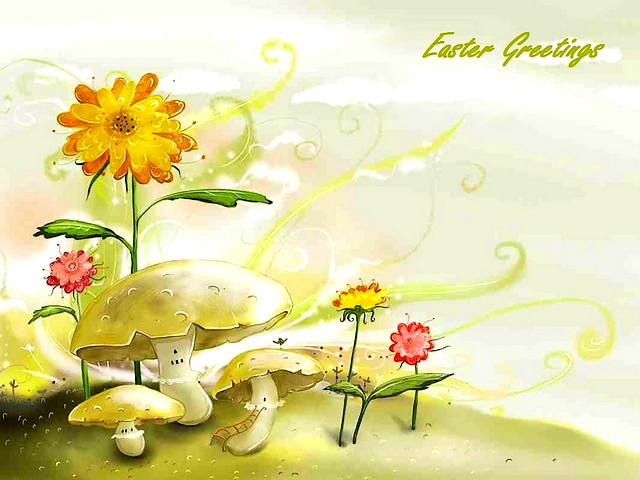 Easter greetings puzzles games puzzles games easter greetings beautiful postcard with greetings for easter easter greetings m4hsunfo
