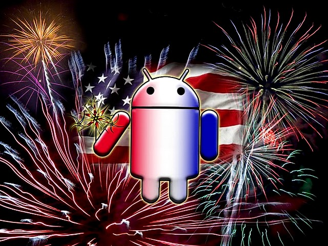 Happy Fourth of July Android Mascot Wallpaper - Wallpaper with best wishes for 'Happy Fourth of July' of all internet surfers, from Android, a mascot of the operating system for smartphones, that can find all the info at one mobile blog. - , Fourth, 4th, July, Android, mascot, mascots, wallpaper, wallpapers, cartoon, cartoons, holidays, holiday, places, place, commemoration, commemorations, celebration, celebrations, event, events, show, shows, best, wishes, wish, happy, internet, surfers, surfer, operating, system, sytems, smartphones, smartphone, mobile, blog, blogs - Wallpaper with best wishes for 'Happy Fourth of July' of all internet surfers, from Android, a mascot of the operating system for smartphones, that can find all the info at one mobile blog. Solve free online Happy Fourth of July Android Mascot Wallpaper puzzle games or send Happy Fourth of July Android Mascot Wallpaper puzzle game greeting ecards  from puzzles-games.eu.. Happy Fourth of July Android Mascot Wallpaper puzzle, puzzles, puzzles games, puzzles-games.eu, puzzle games, online puzzle games, free puzzle games, free online puzzle games, Happy Fourth of July Android Mascot Wallpaper free puzzle game, Happy Fourth of July Android Mascot Wallpaper online puzzle game, jigsaw puzzles, Happy Fourth of July Android Mascot Wallpaper jigsaw puzzle, jigsaw puzzle games, jigsaw puzzles games, Happy Fourth of July Android Mascot Wallpaper puzzle game ecard, puzzles games ecards, Happy Fourth of July Android Mascot Wallpaper puzzle game greeting ecard