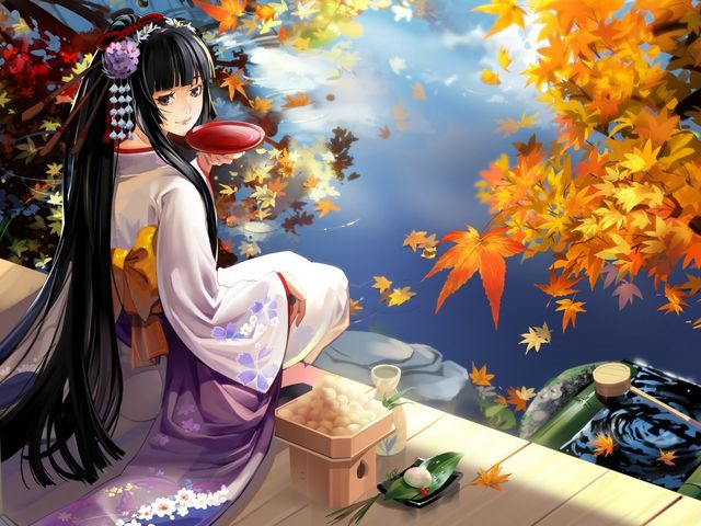 Japanese Anime Girl Wallpaper - Wallpaper with Japanese anime girl dressed in kimono. The word 'anime' corresponds to the English word 'animation'. The anime characters are influenced by the Japanese comics Manga, which have very distinctive style and totally different concept from the American cartoons and comics. - , Japanese, anime, girl, girls, wallpaper, wallpapers, cartoon, cartoons, kimono, word, words, English, animation, characters, character, comics, comic, Manga, distinctive, style, styles, different, concept, concepts, American - Wallpaper with Japanese anime girl dressed in kimono. The word 'anime' corresponds to the English word 'animation'. The anime characters are influenced by the Japanese comics Manga, which have very distinctive style and totally different concept from the American cartoons and comics. Solve free online Japanese Anime Girl Wallpaper puzzle games or send Japanese Anime Girl Wallpaper puzzle game greeting ecards  from puzzles-games.eu.. Japanese Anime Girl Wallpaper puzzle, puzzles, puzzles games, puzzles-games.eu, puzzle games, online puzzle games, free puzzle games, free online puzzle games, Japanese Anime Girl Wallpaper free puzzle game, Japanese Anime Girl Wallpaper online puzzle game, jigsaw puzzles, Japanese Anime Girl Wallpaper jigsaw puzzle, jigsaw puzzle games, jigsaw puzzles games, Japanese Anime Girl Wallpaper puzzle game ecard, puzzles games ecards, Japanese Anime Girl Wallpaper puzzle game greeting ecard