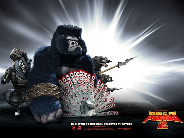 Kung Fu Panda 2 Gorilla Lord Shen and Wolves Army Poster - Poster for the American animated film 'Kung Fu Panda 2' with gorilla, lord Shen and the army of wolves, a sequel of action comedy 'Kung Fu Panda' from 2008, created by DreamWorks Animation and distributed by Paramount Pictures (2011). - , Kung, Fu, Panda, 2, gorilla, gorillas, lord, lords, Shen, wolf, wolves, army, armies, poster, posters, cartoon, cartoons, film, films, movie, movies, picture, pictures, sequel, sequels, adventure, adventures, comedy, comedies, American, animated, action, 2008, DreamWorks, Animation, Paramount, 2011 - Poster for the American animated film 'Kung Fu Panda 2' with gorilla, lord Shen and the army of wolves, a sequel of action comedy 'Kung Fu Panda' from 2008, created by DreamWorks Animation and distributed by Paramount Pictures (2011). Solve free online Kung Fu Panda 2 Gorilla Lord Shen and Wolves Army Poster puzzle games or send Kung Fu Panda 2 Gorilla Lord Shen and Wolves Army Poster puzzle game greeting ecards  from puzzles-games.eu.. Kung Fu Panda 2 Gorilla Lord Shen and Wolves Army Poster puzzle, puzzles, puzzles games, puzzles-games.eu, puzzle games, online puzzle games, free puzzle games, free online puzzle games, Kung Fu Panda 2 Gorilla Lord Shen and Wolves Army Poster free puzzle game, Kung Fu Panda 2 Gorilla Lord Shen and Wolves Army Poster online puzzle game, jigsaw puzzles, Kung Fu Panda 2 Gorilla Lord Shen and Wolves Army Poster jigsaw puzzle, jigsaw puzzle games, jigsaw puzzles games, Kung Fu Panda 2 Gorilla Lord Shen and Wolves Army Poster puzzle game ecard, puzzles games ecards, Kung Fu Panda 2 Gorilla Lord Shen and Wolves Army Poster puzzle game greeting ecard