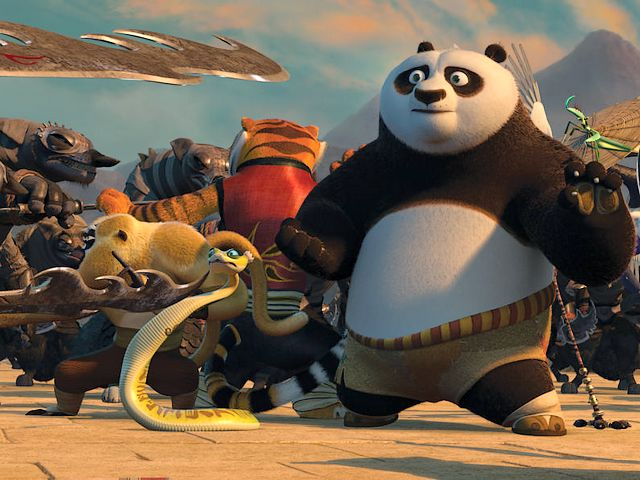 Kung Fu Panda 2 Po and Furious Five in Battle with Wolves - Scene with Po, the Dragon Warrior and the Furious Five in a kung fu battle with the wolves, for protecting the Valley of Peace from the army of Lord Shen, in the American animated film 'Kung Fu Panda 2', the sequel to the action comedy 'Kung Fu Panda' from 2008, created by DreamWorks Animation (2011). - , Kung, Fu, Panda, 2, Po, Furious, Five, wolves, wolf, cartoon, cartoons, film, films, movie, movies, picture, pictures, sequel, sequels, adventure, adventures, comedy, comedies, scene, scenes, Dragon, dragons, Warrior, warriors, battle, battles, Valley, Peace, army, armies, lord, lords, Shen, American, animated, action, actions, 2008, DreamWorks, Animation, 2011 - Scene with Po, the Dragon Warrior and the Furious Five in a kung fu battle with the wolves, for protecting the Valley of Peace from the army of Lord Shen, in the American animated film 'Kung Fu Panda 2', the sequel to the action comedy 'Kung Fu Panda' from 2008, created by DreamWorks Animation (2011). Solve free online Kung Fu Panda 2 Po and Furious Five in Battle with Wolves puzzle games or send Kung Fu Panda 2 Po and Furious Five in Battle with Wolves puzzle game greeting ecards  from puzzles-games.eu.. Kung Fu Panda 2 Po and Furious Five in Battle with Wolves puzzle, puzzles, puzzles games, puzzles-games.eu, puzzle games, online puzzle games, free puzzle games, free online puzzle games, Kung Fu Panda 2 Po and Furious Five in Battle with Wolves free puzzle game, Kung Fu Panda 2 Po and Furious Five in Battle with Wolves online puzzle game, jigsaw puzzles, Kung Fu Panda 2 Po and Furious Five in Battle with Wolves jigsaw puzzle, jigsaw puzzle games, jigsaw puzzles games, Kung Fu Panda 2 Po and Furious Five in Battle with Wolves puzzle game ecard, puzzles games ecards, Kung Fu Panda 2 Po and Furious Five in Battle with Wolves puzzle game greeting ecard