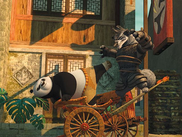 Kung Fu Panda 2 Po and Wolf Boss on Rickshaw - An entertaining scene of a fight between Po and Wolf Boss on rickshaw, a henchman and loyal servant of Lord Shen, in the American animated film 'Kung Fu Panda 2', the sequel to the action comedy 'Kung Fu Panda' from 2008, created by DreamWorks Animation (2011). - , Kung, Fu, Panda, 2, Po, Wolf, wolves, Boss, bosses, rickshaw, rickshaws, cartoon, cartoons, film, films, movie, movies, picture, pictures, sequel, sequels, adventure, adventures, comedy, comedies, entertaining, scene, scenes, fight, fights, henchman, henchmen, loyal, servant, servants, Lord, lords, Shen, American, animated, action, actions, 2008, DreamWorks, Animation, 2011 - An entertaining scene of a fight between Po and Wolf Boss on rickshaw, a henchman and loyal servant of Lord Shen, in the American animated film 'Kung Fu Panda 2', the sequel to the action comedy 'Kung Fu Panda' from 2008, created by DreamWorks Animation (2011). Solve free online Kung Fu Panda 2 Po and Wolf Boss on Rickshaw puzzle games or send Kung Fu Panda 2 Po and Wolf Boss on Rickshaw puzzle game greeting ecards  from puzzles-games.eu.. Kung Fu Panda 2 Po and Wolf Boss on Rickshaw puzzle, puzzles, puzzles games, puzzles-games.eu, puzzle games, online puzzle games, free puzzle games, free online puzzle games, Kung Fu Panda 2 Po and Wolf Boss on Rickshaw free puzzle game, Kung Fu Panda 2 Po and Wolf Boss on Rickshaw online puzzle game, jigsaw puzzles, Kung Fu Panda 2 Po and Wolf Boss on Rickshaw jigsaw puzzle, jigsaw puzzle games, jigsaw puzzles games, Kung Fu Panda 2 Po and Wolf Boss on Rickshaw puzzle game ecard, puzzles games ecards, Kung Fu Panda 2 Po and Wolf Boss on Rickshaw puzzle game greeting ecard