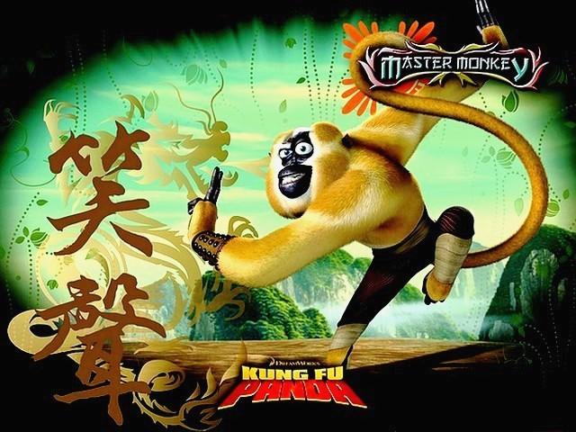 Kung fu Monkey Game Kung fu Panda Master Monkey