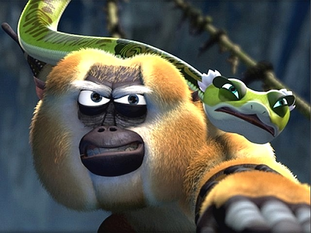 Kung fu Monkey Game Kung fu Panda Monkey And Viper