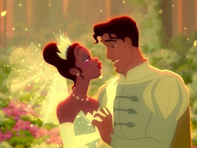Prince Naveen and Tiana at Wedding Ceremony Princess and the Frog - Prince Naveen and Tiana, which become human after the kiss at the wedding ceremony, because Tiana became a real princess after the marriage, in the American animated musical film 'The Princess and the Frog', produced by Walt Disney Animation Studios (2009). - , prince, princes, Naveen, Tiana, wedding, ceremony, ceremonies, princess, princesses, frog, frogs, cartoons, cartoon, film, films, movie, movies, human, kiss, kisses, real, marriage, marriages, American, animated, musical, musicals, Walt, Disney, Animation, Studios, studio, 2009 - Prince Naveen and Tiana, which become human after the kiss at the wedding ceremony, because Tiana became a real princess after the marriage, in the American animated musical film 'The Princess and the Frog', produced by Walt Disney Animation Studios (2009). Подреждайте безплатни онлайн Prince Naveen and Tiana at Wedding Ceremony Princess and the Frog пъзел игри или изпратете Prince Naveen and Tiana at Wedding Ceremony Princess and the Frog пъзел игра поздравителна картичка  от puzzles-games.eu.. Prince Naveen and Tiana at Wedding Ceremony Princess and the Frog пъзел, пъзели, пъзели игри, puzzles-games.eu, пъзел игри, online пъзел игри, free пъзел игри, free online пъзел игри, Prince Naveen and Tiana at Wedding Ceremony Princess and the Frog free пъзел игра, Prince Naveen and Tiana at Wedding Ceremony Princess and the Frog online пъзел игра, jigsaw puzzles, Prince Naveen and Tiana at Wedding Ceremony Princess and the Frog jigsaw puzzle, jigsaw puzzle games, jigsaw puzzles games, Prince Naveen and Tiana at Wedding Ceremony Princess and the Frog пъзел игра картичка, пъзели игри картички, Prince Naveen and Tiana at Wedding Ceremony Princess and the Frog пъзел игра поздравителна картичка