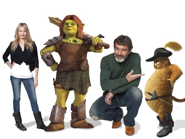 Shrek Cameron Diaz  and Antonio Banderas - Cameron Diaz (as a voice of the princess Fiona) and Antonio Banderas (as a voice of the Puss in boots) in the animated film series 'Shrek'. - , Shrek, Cameron, Diaz, Antonio, Banderas, cartoon, cartoons, film, films, sequel, sequels, serie, series, picture, pictures, film, films, princess, princesses, Fiona, Puss, pusses, boots, boot - Cameron Diaz (as a voice of the princess Fiona) and Antonio Banderas (as a voice of the Puss in boots) in the animated film series 'Shrek'. Solve free online Shrek Cameron Diaz  and Antonio Banderas puzzle games or send Shrek Cameron Diaz  and Antonio Banderas puzzle game greeting ecards  from puzzles-games.eu.. Shrek Cameron Diaz  and Antonio Banderas puzzle, puzzles, puzzles games, puzzles-games.eu, puzzle games, online puzzle games, free puzzle games, free online puzzle games, Shrek Cameron Diaz  and Antonio Banderas free puzzle game, Shrek Cameron Diaz  and Antonio Banderas online puzzle game, jigsaw puzzles, Shrek Cameron Diaz  and Antonio Banderas jigsaw puzzle, jigsaw puzzle games, jigsaw puzzles games, Shrek Cameron Diaz  and Antonio Banderas puzzle game ecard, puzzles games ecards, Shrek Cameron Diaz  and Antonio Banderas puzzle game greeting ecard