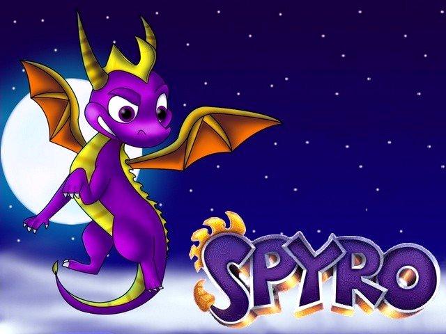 Spyro The Dragon Fan Art Wallpaper