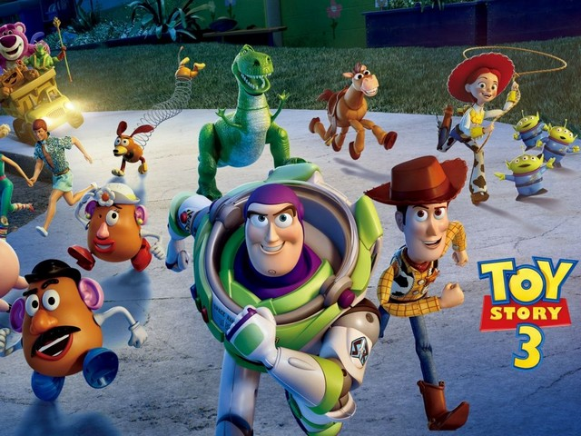Toy Story 3 Characters Poster - Poster with the characters from the American animated series 'Toy Story 3', which was released by Walt Disney Pictures, produced by Pixar Animation Studios and directed by Lee Unkrich (2010). - , toy, toys, story, stories, characters, character, poster, posters, cartoon, cartoons, film, films, movie, movies, picture, pictures, sequel, sequels, serie, series, American, animated, Walt, Disney, Pixar, Animation, Studios, studio, Lee, Unkrich, 2010 - Poster with the characters from the American animated series 'Toy Story 3', which was released by Walt Disney Pictures, produced by Pixar Animation Studios and directed by Lee Unkrich (2010). Solve free online Toy Story 3 Characters Poster puzzle games or send Toy Story 3 Characters Poster puzzle game greeting ecards  from puzzles-games.eu.. Toy Story 3 Characters Poster puzzle, puzzles, puzzles games, puzzles-games.eu, puzzle games, online puzzle games, free puzzle games, free online puzzle games, Toy Story 3 Characters Poster free puzzle game, Toy Story 3 Characters Poster online puzzle game, jigsaw puzzles, Toy Story 3 Characters Poster jigsaw puzzle, jigsaw puzzle games, jigsaw puzzles games, Toy Story 3 Characters Poster puzzle game ecard, puzzles games ecards, Toy Story 3 Characters Poster puzzle game greeting ecard