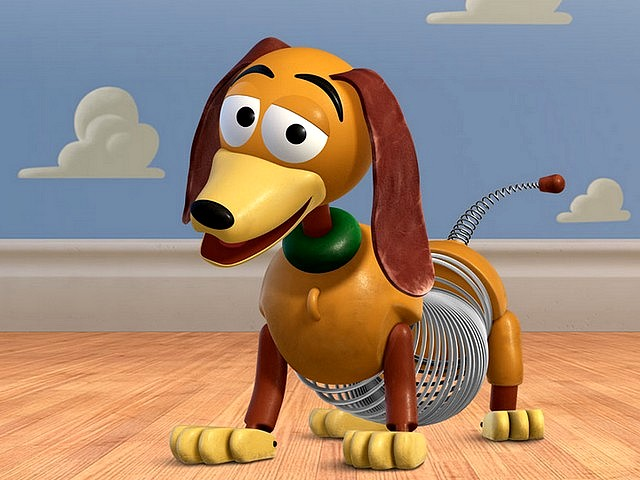 Toy Story 3 Cute Slinky Dog Wallpaper - Wallpaper of a cute toy dachshund, slinky dog from the sequel of the American animated film 'Toy Story 3', voiced by Blake Clark. - , toy, toys, story, stories, 3, cute, slinky, dog, dogs, wallpaper, wallpapers, cartoon, cartoons, film, films, movie, movies, picture, pictures, sequel, sequels, serie, series, dachshund, American, animated, Blake, Clark - Wallpaper of a cute toy dachshund, slinky dog from the sequel of the American animated film 'Toy Story 3', voiced by Blake Clark. Solve free online Toy Story 3 Cute Slinky Dog Wallpaper puzzle games or send Toy Story 3 Cute Slinky Dog Wallpaper puzzle game greeting ecards  from puzzles-games.eu.. Toy Story 3 Cute Slinky Dog Wallpaper puzzle, puzzles, puzzles games, puzzles-games.eu, puzzle games, online puzzle games, free puzzle games, free online puzzle games, Toy Story 3 Cute Slinky Dog Wallpaper free puzzle game, Toy Story 3 Cute Slinky Dog Wallpaper online puzzle game, jigsaw puzzles, Toy Story 3 Cute Slinky Dog Wallpaper jigsaw puzzle, jigsaw puzzle games, jigsaw puzzles games, Toy Story 3 Cute Slinky Dog Wallpaper puzzle game ecard, puzzles games ecards, Toy Story 3 Cute Slinky Dog Wallpaper puzzle game greeting ecard