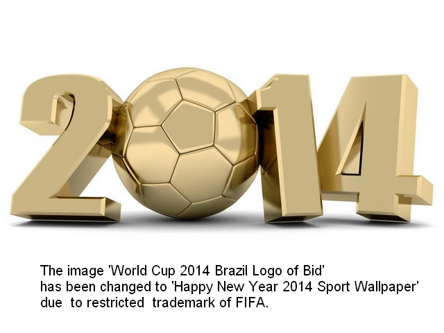 World Cup 2014 Brazil Logo of Bid - A logo of the bid for the FIFA
