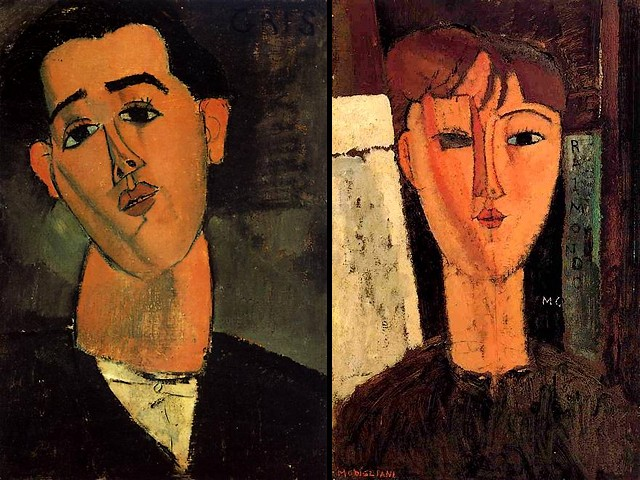 Amedeo Modigliani Portrait of Juan Gris and Raimondo - 'Portrait of Juan Gris' and 'Raimondo' by Amedeo Modigliani (1915). Jose Victoriano Gonzalez-Perez (1887-1927), better known as Juan Gris, was a Spanish painter and sculptor who lived and worked in France, closely connected to the emergence of the artistic genre-Cubism. - , Amedeo, Modigliani, portrait, portraits, Juan, Gris, Raimondo, art, arts, painter, painters, artist, artists, sculptor, sculptors, Expressionist, Expressionists, 1915, Jose, Victoriano, Gonzalez-Perez, 1887-1927, Spanish, France, emergence, artistic, genre-Cubism - 'Portrait of Juan Gris' and 'Raimondo' by Amedeo Modigliani (1915). Jose Victoriano Gonzalez-Perez (1887-1927), better known as Juan Gris, was a Spanish painter and sculptor who lived and worked in France, closely connected to the emergence of the artistic genre-Cubism. Solve free online Amedeo Modigliani Portrait of Juan Gris and Raimondo puzzle games or send Amedeo Modigliani Portrait of Juan Gris and Raimondo puzzle game greeting ecards  from puzzles-games.eu.. Amedeo Modigliani Portrait of Juan Gris and Raimondo puzzle, puzzles, puzzles games, puzzles-games.eu, puzzle games, online puzzle games, free puzzle games, free online puzzle games, Amedeo Modigliani Portrait of Juan Gris and Raimondo free puzzle game, Amedeo Modigliani Portrait of Juan Gris and Raimondo online puzzle game, jigsaw puzzles, Amedeo Modigliani Portrait of Juan Gris and Raimondo jigsaw puzzle, jigsaw puzzle games, jigsaw puzzles games, Amedeo Modigliani Portrait of Juan Gris and Raimondo puzzle game ecard, puzzles games ecards, Amedeo Modigliani Portrait of Juan Gris and Raimondo puzzle game greeting ecard