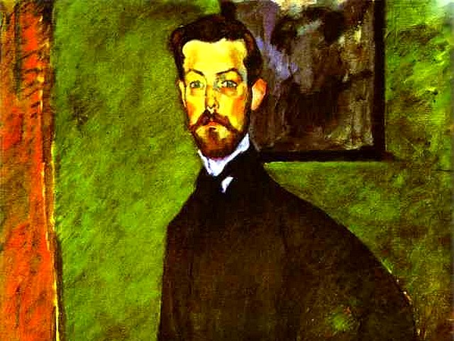 Amedeo Modigliani Portrait of Paul Alexandre against a Green Background - A fragment from the 'Portrait of Paul Alexandre against a Green Background' (1909, oil on canvas, private collection, an early work of Amedeo Modigliani, influenced by Toulouse Lautrec and Paul Cezanne), a medical doctor, a first promoter, collector and patron of Modigliani, who admired by his paintings and supports the Italian artist until 1914, before he went to the army. Dr. Alexandre was buying and collects up to 25 paintings and 450 drawings by Modigliani, which were published in 1990. - , Amedeo, Modigliani, portrait, portraits, Paul, Alexandre, green, background, backgrounds, art, arts, painter, painters, artist, artists, sculptor, sculptors, Expressionist, Expressionists, fragment, fragments, 1909, oil, canvas, private, collection, collections, early, work, works, Toulouse, Lautrec, Paul, Cezanne, medical, doctor, doctors, first, promoter, promoters, collector, collectors, patron, patrons, paintings, painting, 1914, army, armies, Dr.Alexandre, drawings, drawing, 1990 - A fragment from the 'Portrait of Paul Alexandre against a Green Background' (1909, oil on canvas, private collection, an early work of Amedeo Modigliani, influenced by Toulouse Lautrec and Paul Cezanne), a medical doctor, a first promoter, collector and patron of Modigliani, who admired by his paintings and supports the Italian artist until 1914, before he went to the army. Dr. Alexandre was buying and collects up to 25 paintings and 450 drawings by Modigliani, which were published in 1990. Solve free online Amedeo Modigliani Portrait of Paul Alexandre against a Green Background puzzle games or send Amedeo Modigliani Portrait of Paul Alexandre against a Green Background puzzle game greeting ecards  from puzzles-games.eu.. Amedeo Modigliani Portrait of Paul Alexandre against a Green Background puzzle, puzzles, puzzles games, puzzles-games.eu, puzzle games, online puzzle games, free puzzle games, free online puzzle games, Amedeo Modigliani Portrait of Paul Alexandre against a Green Background free puzzle game, Amedeo Modigliani Portrait of Paul Alexandre against a Green Background online puzzle game, jigsaw puzzles, Amedeo Modigliani Portrait of Paul Alexandre against a Green Background jigsaw puzzle, jigsaw puzzle games, jigsaw puzzles games, Amedeo Modigliani Portrait of Paul Alexandre against a Green Background puzzle game ecard, puzzles games ecards, Amedeo Modigliani Portrait of Paul Alexandre against a Green Background puzzle game greeting ecard