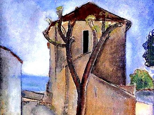Amedeo Modigliani Tree and Houses - A fragment of 'Tree and Houses' ('Landscape in the Midi', 1919, oil on canvas, private collection, Paris), one of the most famous of the few landscapes, drawn by the Italian artist Amedeo Modigliani, known for his paintings and sculptures in a modern style. - , Amedeo, Modigliani, tree, trees, houses, house, art, arts, painter, painters, artist, artists, sculptor, sculptors, Expressionist, Expressionists, landscape, landscapes, Midi, 1919, oil, canvas, private, collection, collections, Paris, most, famous, Italian, paintings, painting, sculptures, sculpture, modern, style, styles - A fragment of 'Tree and Houses' ('Landscape in the Midi', 1919, oil on canvas, private collection, Paris), one of the most famous of the few landscapes, drawn by the Italian artist Amedeo Modigliani, known for his paintings and sculptures in a modern style. Решайте бесплатные онлайн Amedeo Modigliani Tree and Houses пазлы игры или отправьте Amedeo Modigliani Tree and Houses пазл игру приветственную открытку  из puzzles-games.eu.. Amedeo Modigliani Tree and Houses пазл, пазлы, пазлы игры, puzzles-games.eu, пазл игры, онлайн пазл игры, игры пазлы бесплатно, бесплатно онлайн пазл игры, Amedeo Modigliani Tree and Houses бесплатно пазл игра, Amedeo Modigliani Tree and Houses онлайн пазл игра , jigsaw puzzles, Amedeo Modigliani Tree and Houses jigsaw puzzle, jigsaw puzzle games, jigsaw puzzles games, Amedeo Modigliani Tree and Houses пазл игра открытка, пазлы игры открытки, Amedeo Modigliani Tree and Houses пазл игра приветственная открытка