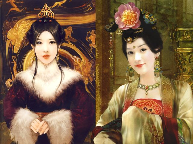 Chinese Girl and Lady with Blossom by Der Jen - Portraits of Chinese girl and a beautiful lady with blossom of lotus in her hair, paintings from an elite collection by Der Jen (Dezhen), a Taiwanese artist. - , portraits, portrait, girl, girls, lady, ladies, lady, blossom, blossoms, Der, Jen, art, arts, Chinese, beautiful, lotus, lotuses, hair, hairs, paintings, painting, elite, collection, collections, Dezhen, Taiwanese, artist, artists - Portraits of Chinese girl and a beautiful lady with blossom of lotus in her hair, paintings from an elite collection by Der Jen (Dezhen), a Taiwanese artist. Solve free online Chinese Girl and Lady with Blossom by Der Jen puzzle games or send Chinese Girl and Lady with Blossom by Der Jen puzzle game greeting ecards  from puzzles-games.eu.. Chinese Girl and Lady with Blossom by Der Jen puzzle, puzzles, puzzles games, puzzles-games.eu, puzzle games, online puzzle games, free puzzle games, free online puzzle games, Chinese Girl and Lady with Blossom by Der Jen free puzzle game, Chinese Girl and Lady with Blossom by Der Jen online puzzle game, jigsaw puzzles, Chinese Girl and Lady with Blossom by Der Jen jigsaw puzzle, jigsaw puzzle games, jigsaw puzzles games, Chinese Girl and Lady with Blossom by Der Jen puzzle game ecard, puzzles games ecards, Chinese Girl and Lady with Blossom by Der Jen puzzle game greeting ecard