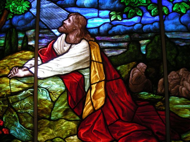 Christ praying in Gethsemane Garden Stained Glass Window Glenwood Lutheran Church Minnesota - Stained Glass window in the Glenwood Lutheran Church-ELCA, Glenwood, Minnesota, depicting Christ who is praying in the garden of Gethsemane: 'My God, my God, why have you forsaken me?'  (Matthew 27:46). This is our Lord's final act, before He is arrested, tried, and put to death. When Jesus returned sorrowful, he found His disciples Peter and the two sons of Zebedee to sleep, despite His last words spoken to them to pray to do not fall into temptation. Last words of a person, are very often of a great importance. - , Christ, Gethsemane, garden, gardens, stained, glass, window, windows, Glenwood, Lutheran, church, churches, Minnesota, art, arts, holiday, holidays, God, Matthew, Lord, final, act, acts, sorrowful, disciples, disciple, Peter, sons, son, Zebedee, last, words, word, temptation, temptations, person, persons, great, importance - Stained Glass window in the Glenwood Lutheran Church-ELCA, Glenwood, Minnesota, depicting Christ who is praying in the garden of Gethsemane: 'My God, my God, why have you forsaken me?'  (Matthew 27:46). This is our Lord's final act, before He is arrested, tried, and put to death. When Jesus returned sorrowful, he found His disciples Peter and the two sons of Zebedee to sleep, despite His last words spoken to them to pray to do not fall into temptation. Last words of a person, are very often of a great importance. Solve free online Christ praying in Gethsemane Garden Stained Glass Window Glenwood Lutheran Church Minnesota puzzle games or send Christ praying in Gethsemane Garden Stained Glass Window Glenwood Lutheran Church Minnesota puzzle game greeting ecards  from puzzles-games.eu.. Christ praying in Gethsemane Garden Stained Glass Window Glenwood Lutheran Church Minnesota puzzle, puzzles, puzzles games, puzzles-games.eu, puzzle games, online puzzle games, free puzzle games, free online puzzle games, Christ praying in Gethsemane Garden Stained Glass Window Glenwood Lutheran Church Minnesota free puzzle game, Christ praying in Gethsemane Garden Stained Glass Window Glenwood Lutheran Church Minnesota online puzzle game, jigsaw puzzles, Christ praying in Gethsemane Garden Stained Glass Window Glenwood Lutheran Church Minnesota jigsaw puzzle, jigsaw puzzle games, jigsaw puzzles games, Christ praying in Gethsemane Garden Stained Glass Window Glenwood Lutheran Church Minnesota puzzle game ecard, puzzles games ecards, Christ praying in Gethsemane Garden Stained Glass Window Glenwood Lutheran Church Minnesota puzzle game greeting ecard