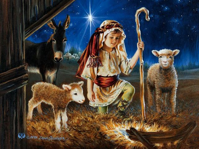 Christmas Greeting Card Little Shepherd by Dona Gelsinger - 'Little Shepherd', beautiful greeting card for Christmas, painted by the American artist Dona Gelsinger, graduated from the California State University with a bachelor's degree. Her art works from 'Heaven's Little Angels' collection, are used on tapestries, greeting cards, gift bags and boxes, fabrics and calendars. - , Christmas, greeting, card, cards, little, shepherd, shepherds, Dona, Gelsinger, art, arts, cartoon, cartoons, holiday, holidays, beautiful, American, artist, artists, California, State, University, universities, bachelor, bachelors, degree, degrees, works, work, heaven, little, angels, angel, tapestries, tapestry, gift, bags, bag, boxes, box, fabrics, fabric, calendars, calendar - 'Little Shepherd', beautiful greeting card for Christmas, painted by the American artist Dona Gelsinger, graduated from the California State University with a bachelor's degree. Her art works from 'Heaven's Little Angels' collection, are used on tapestries, greeting cards, gift bags and boxes, fabrics and calendars. Solve free online Christmas Greeting Card Little Shepherd by Dona Gelsinger puzzle games or send Christmas Greeting Card Little Shepherd by Dona Gelsinger puzzle game greeting ecards  from puzzles-games.eu.. Christmas Greeting Card Little Shepherd by Dona Gelsinger puzzle, puzzles, puzzles games, puzzles-games.eu, puzzle games, online puzzle games, free puzzle games, free online puzzle games, Christmas Greeting Card Little Shepherd by Dona Gelsinger free puzzle game, Christmas Greeting Card Little Shepherd by Dona Gelsinger online puzzle game, jigsaw puzzles, Christmas Greeting Card Little Shepherd by Dona Gelsinger jigsaw puzzle, jigsaw puzzle games, jigsaw puzzles games, Christmas Greeting Card Little Shepherd by Dona Gelsinger puzzle game ecard, puzzles games ecards, Christmas Greeting Card Little Shepherd by Dona Gelsinger puzzle game greeting ecard