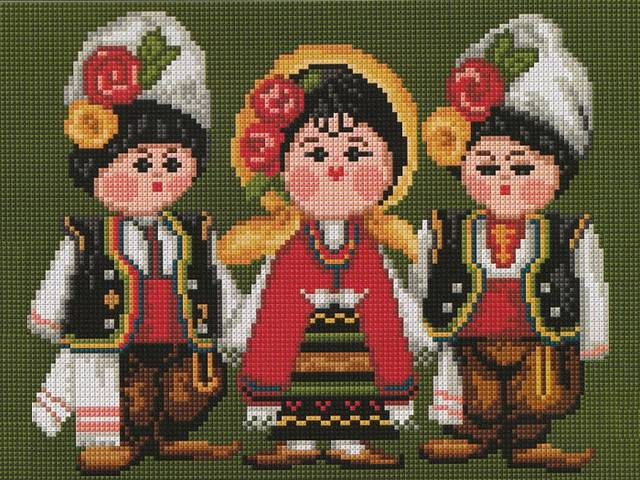 Dolls from Bulgarian folklore Embroidery with Cross Stitch - Beautiful dolls in traditional national costumes from the Bulgarian folklore, embroidery with cross stitch, made by Nadine from Plovdiv, Bulgaria. - , dolls, doll, Bulgarian, folklore, embroidery, embroideries, cross, stitch, art, arts, places, place, travel, travels, beautiful, traditional, national, costumes, costume, Nadine, Plovdiv, Bulgaria - Beautiful dolls in traditional national costumes from the Bulgarian folklore, embroidery with cross stitch, made by Nadine from Plovdiv, Bulgaria. Solve free online Dolls from Bulgarian folklore Embroidery with Cross Stitch puzzle games or send Dolls from Bulgarian folklore Embroidery with Cross Stitch puzzle game greeting ecards  from puzzles-games.eu.. Dolls from Bulgarian folklore Embroidery with Cross Stitch puzzle, puzzles, puzzles games, puzzles-games.eu, puzzle games, online puzzle games, free puzzle games, free online puzzle games, Dolls from Bulgarian folklore Embroidery with Cross Stitch free puzzle game, Dolls from Bulgarian folklore Embroidery with Cross Stitch online puzzle game, jigsaw puzzles, Dolls from Bulgarian folklore Embroidery with Cross Stitch jigsaw puzzle, jigsaw puzzle games, jigsaw puzzles games, Dolls from Bulgarian folklore Embroidery with Cross Stitch puzzle game ecard, puzzles games ecards, Dolls from Bulgarian folklore Embroidery with Cross Stitch puzzle game greeting ecard