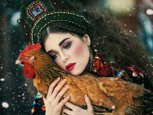 Girl with Hen in Russian Folk Style by Margarita Kareva - 'Girl with Hen' by Margarita Kareva is a stunning photography from the fantasy art collection in Russian folk style, inspired by the fairytale about the 'Speckled hen'. Margarita Kareva is a Russian Fantasy art photographer from Ekaterinburg (Yekaterinburg), who uses surreal elements with amazing combination of stage property, splendid clothes and locations, contrasting vibrant colors, beautiful women radiating a sophisticated elegance, and a manipulation with Photoshop, to breathe life into the fairy-tales of her enchanting photos. - , girl, girls, hen, hens, Russian, folk, style, styles, Margarita, Kareva, art, arts, stunning, photography, fantasy, collection, collections, fairytale, fairytales, speckled, photographer, photographers, Ekaterinburg, Yekaterinburg, surreal, elements, element, amazing, combination, combinations, stage, stages, property, properties, splendid, clothes, locations, location, contrasting, vibrant, colors, color, beautiful, women, woman, sophisticated, elegance, Photoshop, fairytales, enchanting, photos, photo - 'Girl with Hen' by Margarita Kareva is a stunning photography from the fantasy art collection in Russian folk style, inspired by the fairytale about the 'Speckled hen'. Margarita Kareva is a Russian Fantasy art photographer from Ekaterinburg (Yekaterinburg), who uses surreal elements with amazing combination of stage property, splendid clothes and locations, contrasting vibrant colors, beautiful women radiating a sophisticated elegance, and a manipulation with Photoshop, to breathe life into the fairy-tales of her enchanting photos. Solve free online Girl with Hen in Russian Folk Style by Margarita Kareva puzzle games or send Girl with Hen in Russian Folk Style by Margarita Kareva puzzle game greeting ecards  from puzzles-games.eu.. Girl with Hen in Russian Folk Style by Margarita Kareva puzzle, puzzles, puzzles games, puzzles-games.eu, puzzle games, online puzzle games, free puzzle games, free online puzzle games, Girl with Hen in Russian Folk Style by Margarita Kareva free puzzle game, Girl with Hen in Russian Folk Style by Margarita Kareva online puzzle game, jigsaw puzzles, Girl with Hen in Russian Folk Style by Margarita Kareva jigsaw puzzle, jigsaw puzzle games, jigsaw puzzles games, Girl with Hen in Russian Folk Style by Margarita Kareva puzzle game ecard, puzzles games ecards, Girl with Hen in Russian Folk Style by Margarita Kareva puzzle game greeting ecard