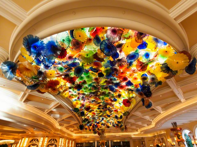 Glass Flower Ceiling Bellagio Hotel and Casino Las Vegas Nevada - An incredible ceiling in the lobby of the Bellagio Hotel and Casino in Las Vegas, Nevada with beautiful glass flowers (Fiori di Como, hand-blown glass flowers), an artwork masterpiece by sculptor Dale Chihuly. Dale Chihuly (born September 20, 1941) is an American glass sculptor and entrepreneur, whose works are considered unique to the field of blown glass. - , glass, flower, flowers, ceiling, ceilings, Bellagio, hotel, hotels, casino, Las, Vegas, Nevada, art, arts, places, place, incredible, lobby, beautiful, Fiori, Como, hand, blown, artwork, artworks, masterpiece, masterpieces, sculptor, sculptors, Dale, Chihuly, September, 1941, American, entrepreneur, entrepreneurs, works, work, unique, field, fields - An incredible ceiling in the lobby of the Bellagio Hotel and Casino in Las Vegas, Nevada with beautiful glass flowers (Fiori di Como, hand-blown glass flowers), an artwork masterpiece by sculptor Dale Chihuly. Dale Chihuly (born September 20, 1941) is an American glass sculptor and entrepreneur, whose works are considered unique to the field of blown glass. Solve free online Glass Flower Ceiling Bellagio Hotel and Casino Las Vegas Nevada puzzle games or send Glass Flower Ceiling Bellagio Hotel and Casino Las Vegas Nevada puzzle game greeting ecards  from puzzles-games.eu.. Glass Flower Ceiling Bellagio Hotel and Casino Las Vegas Nevada puzzle, puzzles, puzzles games, puzzles-games.eu, puzzle games, online puzzle games, free puzzle games, free online puzzle games, Glass Flower Ceiling Bellagio Hotel and Casino Las Vegas Nevada free puzzle game, Glass Flower Ceiling Bellagio Hotel and Casino Las Vegas Nevada online puzzle game, jigsaw puzzles, Glass Flower Ceiling Bellagio Hotel and Casino Las Vegas Nevada jigsaw puzzle, jigsaw puzzle games, jigsaw puzzles games, Glass Flower Ceiling Bellagio Hotel and Casino Las Vegas Nevada puzzle game ecard, puzzles games ecards, Glass Flower Ceiling Bellagio Hotel and Casino Las Vegas Nevada puzzle game greeting ecard