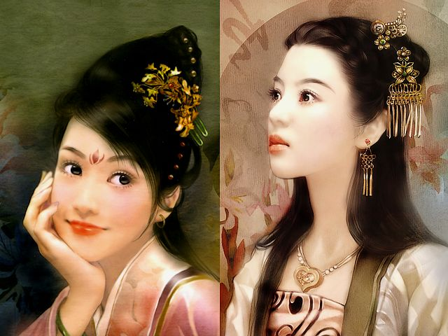 Portraits of Ladies by Der Jen - Portraits of two beautiful Chinese ladies from the elite collection, painted by Der Jen (Dezhen), a Taiwanese artist. - , portraits, portrait, ladies, lady, Der, Jen, art, arts, beautiful, Chinese, elite, collection, collections, Dezhen, Taiwanese, artist, artists - Portraits of two beautiful Chinese ladies from the elite collection, painted by Der Jen (Dezhen), a Taiwanese artist. Solve free online Portraits of Ladies by Der Jen puzzle games or send Portraits of Ladies by Der Jen puzzle game greeting ecards  from puzzles-games.eu.. Portraits of Ladies by Der Jen puzzle, puzzles, puzzles games, puzzles-games.eu, puzzle games, online puzzle games, free puzzle games, free online puzzle games, Portraits of Ladies by Der Jen free puzzle game, Portraits of Ladies by Der Jen online puzzle game, jigsaw puzzles, Portraits of Ladies by Der Jen jigsaw puzzle, jigsaw puzzle games, jigsaw puzzles games, Portraits of Ladies by Der Jen puzzle game ecard, puzzles games ecards, Portraits of Ladies by Der Jen puzzle game greeting ecard