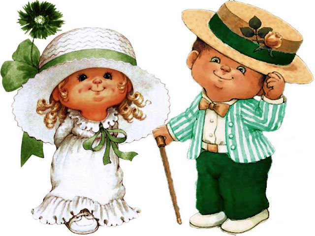 Saint Patricks Day Lady and Gentleman by Ruth Morehead - A charming lady in white dress with sun-hat and polite gentleman, characters from the lovely collection for Saint Patricks Day by Ruth J. Morehead. - , saint, st., st, Patricks, day, days, lady, ladies, gentleman, gentlemen, Ruth, Morehead, art, arts, holiday, holidays, cartoons, cartoon, feast, feasts, party, parties, festivity, festivities, celebration, celebrations, charming, white, dress, dresses, sun, hat, hats, polite, characters, character, lovely, collection, collections - A charming lady in white dress with sun-hat and polite gentleman, characters from the lovely collection for Saint Patricks Day by Ruth J. Morehead. Solve free online Saint Patricks Day Lady and Gentleman by Ruth Morehead puzzle games or send Saint Patricks Day Lady and Gentleman by Ruth Morehead puzzle game greeting ecards  from puzzles-games.eu.. Saint Patricks Day Lady and Gentleman by Ruth Morehead puzzle, puzzles, puzzles games, puzzles-games.eu, puzzle games, online puzzle games, free puzzle games, free online puzzle games, Saint Patricks Day Lady and Gentleman by Ruth Morehead free puzzle game, Saint Patricks Day Lady and Gentleman by Ruth Morehead online puzzle game, jigsaw puzzles, Saint Patricks Day Lady and Gentleman by Ruth Morehead jigsaw puzzle, jigsaw puzzle games, jigsaw puzzles games, Saint Patricks Day Lady and Gentleman by Ruth Morehead puzzle game ecard, puzzles games ecards, Saint Patricks Day Lady and Gentleman by Ruth Morehead puzzle game greeting ecard