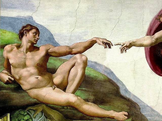 Sistine Chapel Michelangelo Creation of Adam Detail Basilica Saint Peter Vatican Rome Italy - Detail of the 'Creation of Adam' with the hand of God giving life to Adam, one of the most renowned artworks, a fresco from the Renaissance  painted by Michelangelo (1508-1512), located on the central to the ceiling of the Sistine Chapel the Basilica 'Saint Peter' in Vatican, Rome, Italy. - , Sistine, Chapel, Michelangelo, Creation, creations, Adam, detail, details, basilica, basilicas, Saint, Peter, St.Peter, Vatican, Rome, Italy, art, arts, places, place, holidays, holiday, travel, travels, tour, tours, trips, trip, excursion, excursions, hand, hands, God, renowned, artworks, artwork, fresco, frescoes, Renaissance, 1508-1512, central, ceiling, ceilings - Detail of the 'Creation of Adam' with the hand of God giving life to Adam, one of the most renowned artworks, a fresco from the Renaissance  painted by Michelangelo (1508-1512), located on the central to the ceiling of the Sistine Chapel the Basilica 'Saint Peter' in Vatican, Rome, Italy. Solve free online Sistine Chapel Michelangelo Creation of Adam Detail Basilica Saint Peter Vatican Rome Italy puzzle games or send Sistine Chapel Michelangelo Creation of Adam Detail Basilica Saint Peter Vatican Rome Italy puzzle game greeting ecards  from puzzles-games.eu.. Sistine Chapel Michelangelo Creation of Adam Detail Basilica Saint Peter Vatican Rome Italy puzzle, puzzles, puzzles games, puzzles-games.eu, puzzle games, online puzzle games, free puzzle games, free online puzzle games, Sistine Chapel Michelangelo Creation of Adam Detail Basilica Saint Peter Vatican Rome Italy free puzzle game, Sistine Chapel Michelangelo Creation of Adam Detail Basilica Saint Peter Vatican Rome Italy online puzzle game, jigsaw puzzles, Sistine Chapel Michelangelo Creation of Adam Detail Basilica Saint Peter Vatican Rome Italy jigsaw puzzle, jigsaw puzzle games, jigsaw puzzles games, Sistine Chapel Michelangelo Creation of Adam Detail Basilica Saint Peter Vatican Rome Italy puzzle game ecard, puzzles games ecards, Sistine Chapel Michelangelo Creation of Adam Detail Basilica Saint Peter Vatican Rome Italy puzzle game greeting ecard