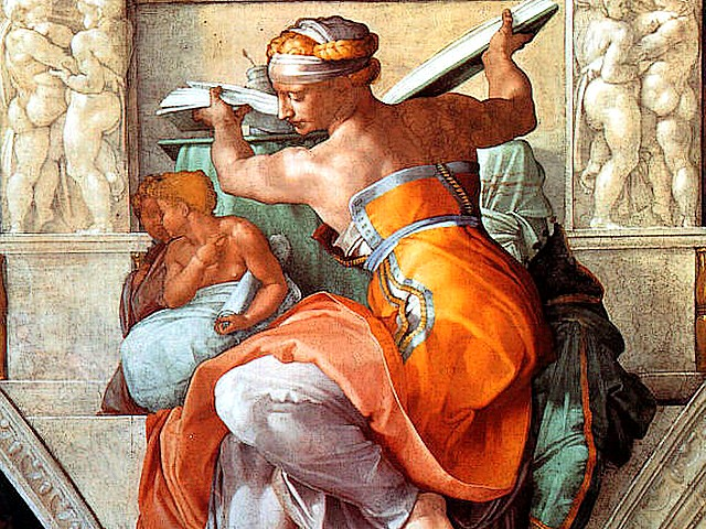 Sistine Chapel Michelangelo Libyan Sibyl Basilica Saint Peter Vatican Rome Italy - 'Libyan Sibyl' is a prophet from the Classical mythology, foretold the 'coming of the day when that which is hidden shall be revealed', one of the twelve large figures of people, painted by Michelangelo on the ceiling of the Sistine Chapel in the Basilica 'Saint Peter' in Vatican, Rome, Italy. - , Sistine, Chapel, Michelangelo, Libyan, Sibyl, basilica, basilicas, Saint, Peter, St.Peter, Vatican, Rome, Italy, art, arts, places, place, holidays, holiday, travel, travels, tour, tours, trips, trip, excursion, excursions, prophet, prophets, Classical, mythology, day, days, hidden, twelve, large, figures, figure, people, ceiling, ceilings - 'Libyan Sibyl' is a prophet from the Classical mythology, foretold the 'coming of the day when that which is hidden shall be revealed', one of the twelve large figures of people, painted by Michelangelo on the ceiling of the Sistine Chapel in the Basilica 'Saint Peter' in Vatican, Rome, Italy. Solve free online Sistine Chapel Michelangelo Libyan Sibyl Basilica Saint Peter Vatican Rome Italy puzzle games or send Sistine Chapel Michelangelo Libyan Sibyl Basilica Saint Peter Vatican Rome Italy puzzle game greeting ecards  from puzzles-games.eu.. Sistine Chapel Michelangelo Libyan Sibyl Basilica Saint Peter Vatican Rome Italy puzzle, puzzles, puzzles games, puzzles-games.eu, puzzle games, online puzzle games, free puzzle games, free online puzzle games, Sistine Chapel Michelangelo Libyan Sibyl Basilica Saint Peter Vatican Rome Italy free puzzle game, Sistine Chapel Michelangelo Libyan Sibyl Basilica Saint Peter Vatican Rome Italy online puzzle game, jigsaw puzzles, Sistine Chapel Michelangelo Libyan Sibyl Basilica Saint Peter Vatican Rome Italy jigsaw puzzle, jigsaw puzzle games, jigsaw puzzles games, Sistine Chapel Michelangelo Libyan Sibyl Basilica Saint Peter Vatican Rome Italy puzzle game ecard, puzzles games ecards, Sistine Chapel Michelangelo Libyan Sibyl Basilica Saint Peter Vatican Rome Italy puzzle game greeting ecard