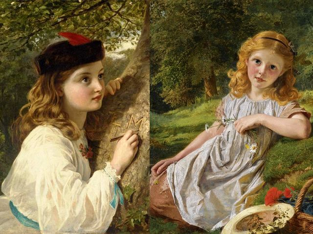 Sophie Anderson The Initials and Summer Flowers - 'The initials' and 'Summer flowers' (oil on canvas, private collections), two wonderful images of children by  Sophie Gengembre Anderson (1823-1903), a French-born British artist, landscape painter and illustrator. In her paintings, Sophie Anderson depicts very realistic the joy of childhood and the youth with abundant details, intense colours, and complex compositions. - , Sophie, Anderson, initials, initial, summer, flowers, flower, art, arts, oil, canvas, private, collection, collections, wonderful, images, image, children, child, Gengembre, 1823, 1903, French, British, artist, artists, landscape, painter, painters, illustrator, illustrators, paintings, painting, realistic, joy, childhood, youth, abundant, detail, details, intense, colours, colour, complex, compositions, composition - 'The initials' and 'Summer flowers' (oil on canvas, private collections), two wonderful images of children by  Sophie Gengembre Anderson (1823-1903), a French-born British artist, landscape painter and illustrator. In her paintings, Sophie Anderson depicts very realistic the joy of childhood and the youth with abundant details, intense colours, and complex compositions. Solve free online Sophie Anderson The Initials and Summer Flowers puzzle games or send Sophie Anderson The Initials and Summer Flowers puzzle game greeting ecards  from puzzles-games.eu.. Sophie Anderson The Initials and Summer Flowers puzzle, puzzles, puzzles games, puzzles-games.eu, puzzle games, online puzzle games, free puzzle games, free online puzzle games, Sophie Anderson The Initials and Summer Flowers free puzzle game, Sophie Anderson The Initials and Summer Flowers online puzzle game, jigsaw puzzles, Sophie Anderson The Initials and Summer Flowers jigsaw puzzle, jigsaw puzzle games, jigsaw puzzles games, Sophie Anderson The Initials and Summer Flowers puzzle game ecard, puzzles games ecards, Sophie Anderson The Initials and Summer Flowers puzzle game greeting ecard