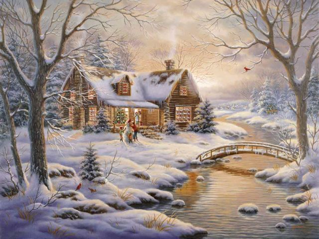Winter Blessing by Judy Gibson - 'Winter's Blessing' is a beautiful winter landscape, painted by the talented artist Judy Gibson, born in Paris, Texas in 1946, with an art degree from East Texas State University. Judy Gibson enjoyed a very successful career with her original paintings on diverse themes, from landscapes to exquisitely detailed paintings of wildlife, painted with oils, watercolors and colored pencils. - , winter, blessing, Judy, Gibson, art, arts, holidays, holiday, season, seasons, beautiful, landscape, landscapes, talented, artist, artists, Paris, Texas, 1946, degree, East, State, University, universities, successful, career, original, paintings, painting, diverse, themes, theme, exquisitely, detailed, wildlife, oils, watercolors, watercolor, colored, pencils, pencil - 'Winter's Blessing' is a beautiful winter landscape, painted by the talented artist Judy Gibson, born in Paris, Texas in 1946, with an art degree from East Texas State University. Judy Gibson enjoyed a very successful career with her original paintings on diverse themes, from landscapes to exquisitely detailed paintings of wildlife, painted with oils, watercolors and colored pencils. Solve free online Winter Blessing by Judy Gibson puzzle games or send Winter Blessing by Judy Gibson puzzle game greeting ecards  from puzzles-games.eu.. Winter Blessing by Judy Gibson puzzle, puzzles, puzzles games, puzzles-games.eu, puzzle games, online puzzle games, free puzzle games, free online puzzle games, Winter Blessing by Judy Gibson free puzzle game, Winter Blessing by Judy Gibson online puzzle game, jigsaw puzzles, Winter Blessing by Judy Gibson jigsaw puzzle, jigsaw puzzle games, jigsaw puzzles games, Winter Blessing by Judy Gibson puzzle game ecard, puzzles games ecards, Winter Blessing by Judy Gibson puzzle game greeting ecard