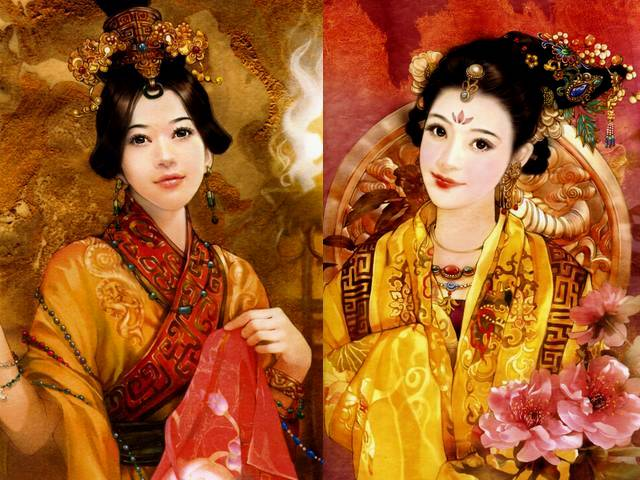 Xi Shi Four Great Beauties by Der Jen - Portrait by Der Jen (Dezhen), the Taiwanese artist, of Xi Shi or Zhi Xi, the most beautiful woman from the four great beauties in ancient China (770-476 B.C.). According to legend, with the entrancing beauty, symbol of the spring and autumn, she forces the fish forget to swim, when walks by. - , Xi, Shi, Xishi, four, great, beauties, beauty, Der, Jen, art, arts, portrait, portraits, Dezhen, Taiwanese, artist, artists, Zhi, Xi, Zhixi, beautiful, woman, women, ancient, China, 770B.C., 476, B.C., legend, legends, entrancing, symbol, symbols, spring, autumn, fish, fishes - Portrait by Der Jen (Dezhen), the Taiwanese artist, of Xi Shi or Zhi Xi, the most beautiful woman from the four great beauties in ancient China (770-476 B.C.). According to legend, with the entrancing beauty, symbol of the spring and autumn, she forces the fish forget to swim, when walks by. Solve free online Xi Shi Four Great Beauties by Der Jen puzzle games or send Xi Shi Four Great Beauties by Der Jen puzzle game greeting ecards  from puzzles-games.eu.. Xi Shi Four Great Beauties by Der Jen puzzle, puzzles, puzzles games, puzzles-games.eu, puzzle games, online puzzle games, free puzzle games, free online puzzle games, Xi Shi Four Great Beauties by Der Jen free puzzle game, Xi Shi Four Great Beauties by Der Jen online puzzle game, jigsaw puzzles, Xi Shi Four Great Beauties by Der Jen jigsaw puzzle, jigsaw puzzle games, jigsaw puzzles games, Xi Shi Four Great Beauties by Der Jen puzzle game ecard, puzzles games ecards, Xi Shi Four Great Beauties by Der Jen puzzle game greeting ecard