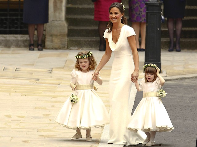 Royal Wedding England Maid of Honour Pippa Middleton with Bridesmaids Grace van Cutsem and Eliza Lopez in front of Westminster Abbey in London - The maid of Honour, Pippa Middleton with two little bridesmaids on age 3, Grace van Cutsem, William's goddaughter and Eliza Lopez, granddaughter of Camilla, Duchess of Cornwall, in front of Westminster Abbey in London, England, arrived to attend in the ceremony of the royal wedding of Prince William and Catherine Duchess of Cambridge, on April 29, 2011. - , Royal, wedding, weddings, England, Maid, Honour, Pippa, Middleton, bridesmaids, bridesmaid, Grace, Cutsem, Eliza, Lopez, Westminster, abbey, abbeys, London, celebrities, celebrity, show, shows, ceremony, ceremonies, event, events, entertainment, entertainments, place, places, travel, travels, tour, tours, little, age, ages, William, goddaughter, goddaughters, granddaughter, granddaughters, Camilla, duchess, duchesses, Cornwall, prince, princes, Catherine, Cambridge, April, 2011 - The maid of Honour, Pippa Middleton with two little bridesmaids on age 3, Grace van Cutsem, William's goddaughter and Eliza Lopez, granddaughter of Camilla, Duchess of Cornwall, in front of Westminster Abbey in London, England, arrived to attend in the ceremony of the royal wedding of Prince William and Catherine Duchess of Cambridge, on April 29, 2011. Solve free online Royal Wedding England Maid of Honour Pippa Middleton with Bridesmaids Grace van Cutsem and Eliza Lopez in front of Westminster Abbey in London puzzle games or send Royal Wedding England Maid of Honour Pippa Middleton with Bridesmaids Grace van Cutsem and Eliza Lopez in front of Westminster Abbey in London puzzle game greeting ecards  from puzzles-games.eu.. Royal Wedding England Maid of Honour Pippa Middleton with Bridesmaids Grace van Cutsem and Eliza Lopez in front of Westminster Abbey in London puzzle, puzzles, puzzles games, puzzles-games.eu, puzzle games, online puzzle games, free puzzle games, free online puzzle games, Royal Wedding England Maid of Honour Pippa Middleton with Bridesmaids Grace van Cutsem and Eliza Lopez in front of Westminster Abbey in London free puzzle game, Royal Wedding England Maid of Honour Pippa Middleton with Bridesmaids Grace van Cutsem and Eliza Lopez in front of Westminster Abbey in London online puzzle game, jigsaw puzzles, Royal Wedding England Maid of Honour Pippa Middleton with Bridesmaids Grace van Cutsem and Eliza Lopez in front of Westminster Abbey in London jigsaw puzzle, jigsaw puzzle games, jigsaw puzzles games, Royal Wedding England Maid of Honour Pippa Middleton with Bridesmaids Grace van Cutsem and Eliza Lopez in front of Westminster Abbey in London puzzle game ecard, puzzles games ecards, Royal Wedding England Maid of Honour Pippa Middleton with Bridesmaids Grace van Cutsem and Eliza Lopez in front of Westminster Abbey in London puzzle game greeting ecard