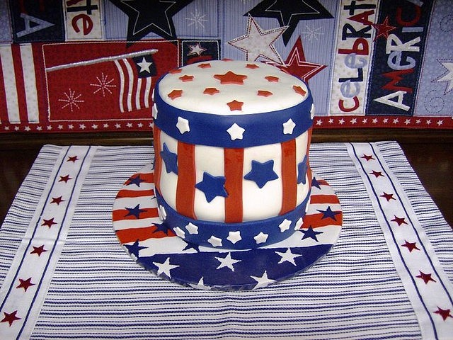 4th of July Cake Uncle Sam Hat - A splendid cake 'Uncle Sam Hat' for the 4th of July fest. - , 4th, July, cake, cakes, Uncle, Sam, hat, hats, food, foods, holiday, holidays, commemoration, commemorations, celebration, celebrations, event, events, show, shows, gathering, gatherings, splendid, fest, fests - A splendid cake 'Uncle Sam Hat' for the 4th of July fest. Solve free online 4th of July Cake Uncle Sam Hat puzzle games or send 4th of July Cake Uncle Sam Hat puzzle game greeting ecards  from puzzles-games.eu.. 4th of July Cake Uncle Sam Hat puzzle, puzzles, puzzles games, puzzles-games.eu, puzzle games, online puzzle games, free puzzle games, free online puzzle games, 4th of July Cake Uncle Sam Hat free puzzle game, 4th of July Cake Uncle Sam Hat online puzzle game, jigsaw puzzles, 4th of July Cake Uncle Sam Hat jigsaw puzzle, jigsaw puzzle games, jigsaw puzzles games, 4th of July Cake Uncle Sam Hat puzzle game ecard, puzzles games ecards, 4th of July Cake Uncle Sam Hat puzzle game greeting ecard