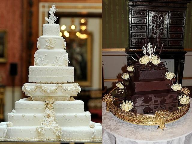 Royal Wedding Cakes For Reception In Buckingham Palace London England