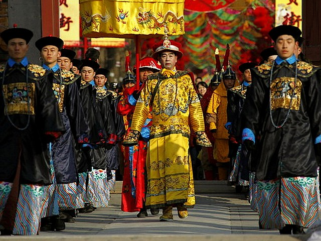Actor as Qing Dynasty Emperor at Temple of Earth Ditan Park in Beijing China - Actor dressed as Emperor of Qing Dynasty at the performance of an ancient ceremony where emperors prays for good harvest and fortune, during the celebrations for the Lunar New Year at the Temple of Earth, Ditan Park in Beijing China (Feb 2, 2011). - , actor, actors, Qing, dynasty, dynasties, emperor, emperors, temple, temples, earth, Ditan, park, parks, Beijing, China, show, shows, holidays, holiday, festival, festivals, celebrations, celebration, places, place, travel, travels, tour, tours, trips, trip, excursion, excursions, performance, performances, good, harvest, harvests, fortune, fortunes, Lunar, New, Year, years, 2011 - Actor dressed as Emperor of Qing Dynasty at the performance of an ancient ceremony where emperors prays for good harvest and fortune, during the celebrations for the Lunar New Year at the Temple of Earth, Ditan Park in Beijing China (Feb 2, 2011). Solve free online Actor as Qing Dynasty Emperor at Temple of Earth Ditan Park in Beijing China puzzle games or send Actor as Qing Dynasty Emperor at Temple of Earth Ditan Park in Beijing China puzzle game greeting ecards  from puzzles-games.eu.. Actor as Qing Dynasty Emperor at Temple of Earth Ditan Park in Beijing China puzzle, puzzles, puzzles games, puzzles-games.eu, puzzle games, online puzzle games, free puzzle games, free online puzzle games, Actor as Qing Dynasty Emperor at Temple of Earth Ditan Park in Beijing China free puzzle game, Actor as Qing Dynasty Emperor at Temple of Earth Ditan Park in Beijing China online puzzle game, jigsaw puzzles, Actor as Qing Dynasty Emperor at Temple of Earth Ditan Park in Beijing China jigsaw puzzle, jigsaw puzzle games, jigsaw puzzles games, Actor as Qing Dynasty Emperor at Temple of Earth Ditan Park in Beijing China puzzle game ecard, puzzles games ecards, Actor as Qing Dynasty Emperor at Temple of Earth Ditan Park in Beijing China puzzle game greeting ecard