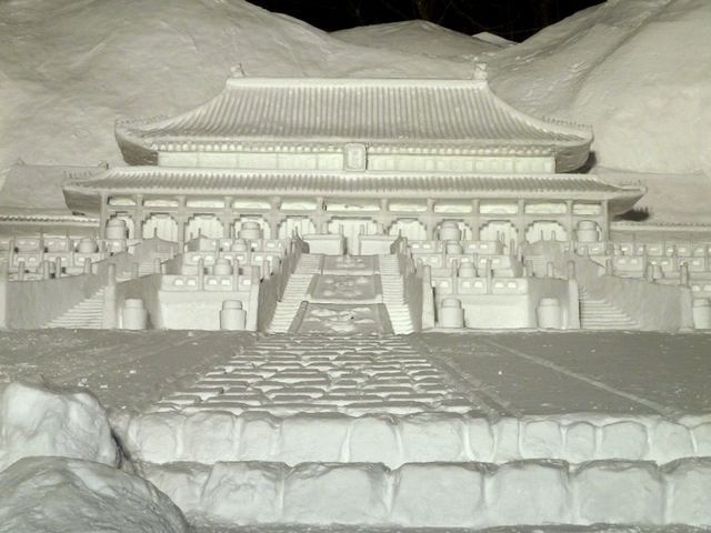 Beijing Forbidden City Snow Sculpture in Odori Park Sapporo Hokkaido Japan - An elegant model of the building of Forbidden City in Beijing, China, made entirely of snow, a part of the huge snow sculpture, named 'Hokkaido - a tourist wonderland', during the annual Snow Festival in Sapporo, Japan (February 2011). - , Beijing, Forbidden, City, cities, snow, sculpture, sculptures, Odori, park, parks, Sapporo, Hokkaido, Japan, show, shows, places, place, nature, natures, travel, travels, trip, trips, tour, tours, elegant, model, models, building, buildings, China, entirely, part, parts, huge, tourist, tourists, wonderland, annual, festival, festivals, February, 2011 - An elegant model of the building of Forbidden City in Beijing, China, made entirely of snow, a part of the huge snow sculpture, named 'Hokkaido - a tourist wonderland', during the annual Snow Festival in Sapporo, Japan (February 2011). Solve free online Beijing Forbidden City Snow Sculpture in Odori Park Sapporo Hokkaido Japan puzzle games or send Beijing Forbidden City Snow Sculpture in Odori Park Sapporo Hokkaido Japan puzzle game greeting ecards  from puzzles-games.eu.. Beijing Forbidden City Snow Sculpture in Odori Park Sapporo Hokkaido Japan puzzle, puzzles, puzzles games, puzzles-games.eu, puzzle games, online puzzle games, free puzzle games, free online puzzle games, Beijing Forbidden City Snow Sculpture in Odori Park Sapporo Hokkaido Japan free puzzle game, Beijing Forbidden City Snow Sculpture in Odori Park Sapporo Hokkaido Japan online puzzle game, jigsaw puzzles, Beijing Forbidden City Snow Sculpture in Odori Park Sapporo Hokkaido Japan jigsaw puzzle, jigsaw puzzle games, jigsaw puzzles games, Beijing Forbidden City Snow Sculpture in Odori Park Sapporo Hokkaido Japan puzzle game ecard, puzzles games ecards, Beijing Forbidden City Snow Sculpture in Odori Park Sapporo Hokkaido Japan puzzle game greeting ecard